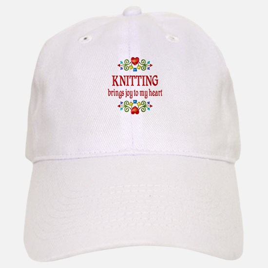 Knitting Joy Baseball Baseball Cap