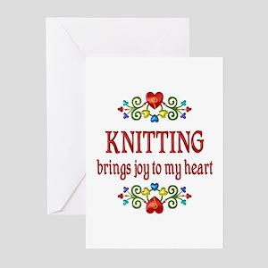 Knitting Joy Greeting Cards (Pk of 10)