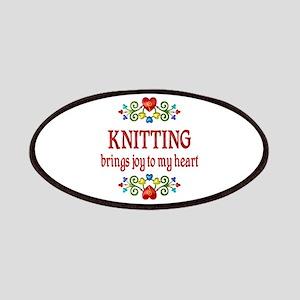 Knitting Joy Patches
