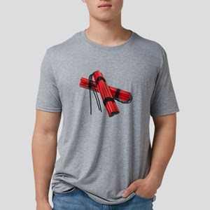 SticksOfDynamite120911 Mens Tri-blend T-Shirt