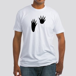 Raccoon Tracks Fitted T-Shirt