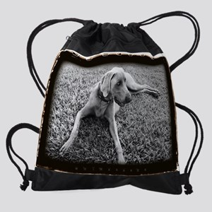 BW_20X16_BuckleyPoster Drawstring Bag