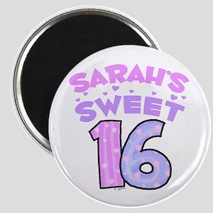 Sarah Sweet 16 Magnet