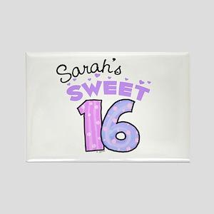 Sarah 16 Rectangle Magnet