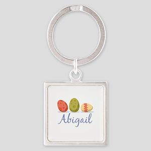 Easter Egg Abigail Keychains