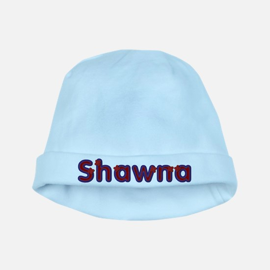 Shawna Red Caps baby hat