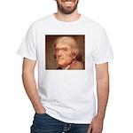 Jefferson Self-Government White Tee