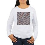 School of Piranhas 2 fish Long Sleeve T-Shirt