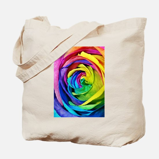 Roses are red, pink, blue, yellow..... Tote Bag