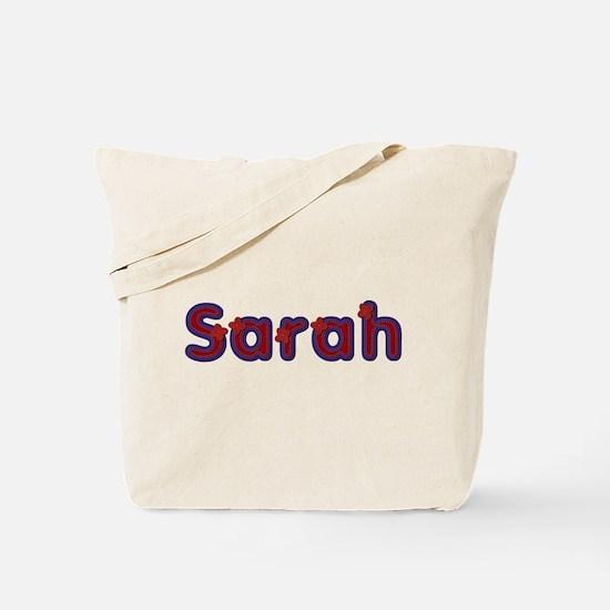 Sarah Red Caps Tote Bag