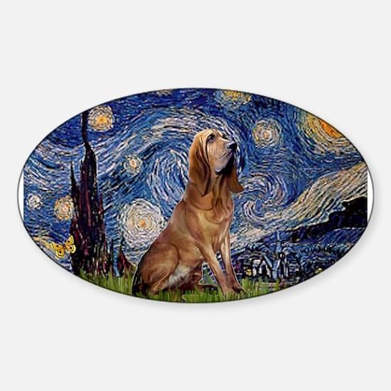 Starry Night Bloodhound Decal