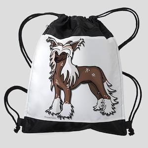 ChinCrestedBig Drawstring Bag