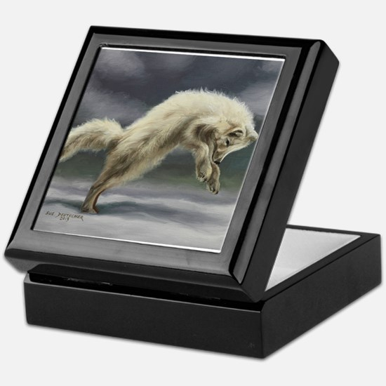Arctic Fox Keepsake Box
