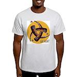 Gat Mjöð? T-Shirt with Bees (Ash Grey)