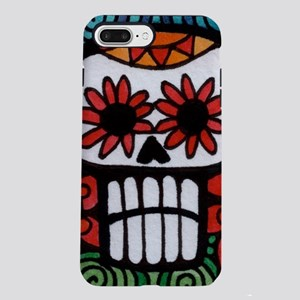 Day of the Dead Flower Sk iPhone 7 Plus Tough Case
