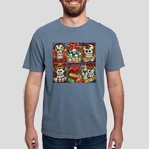 Day of the Dead Sugar Sk Mens Comfort Colors Shirt