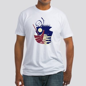 Venice Boat Fitted T-Shirt