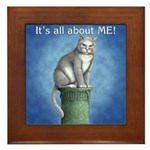 All About Me Framed Tile