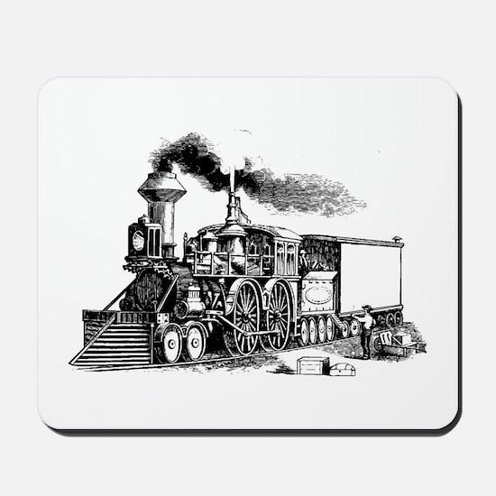 Steam Engine Mousepad