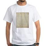 Declaration of Independence White Tee