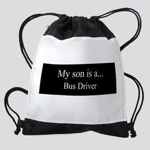 Son - Bus Driver Drawstring Bag