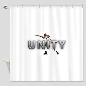 Skate Unity Shower Curtain