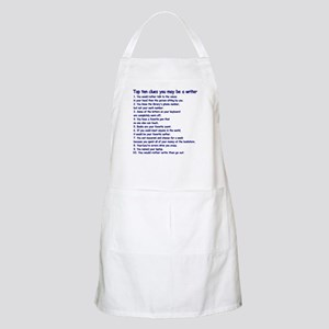 Writer Clues Writing BBQ Apron
