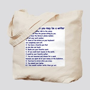 Writer Clues Writing Tote Bag
