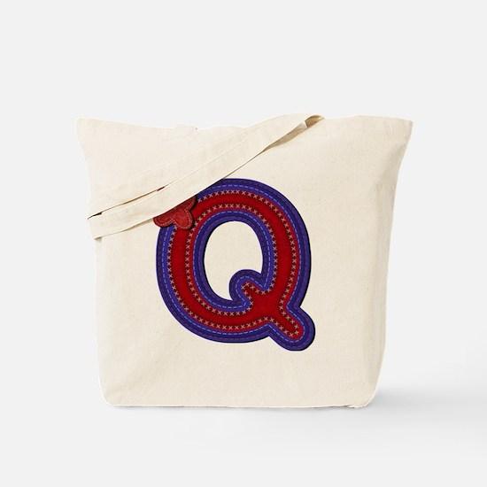 Q Red Caps Tote Bag