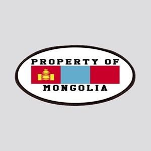 Property Of Mongolia Patches