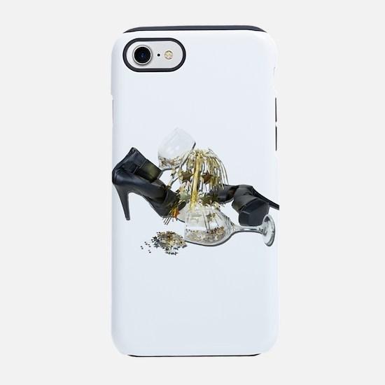 ShoesWineGlassesCascadingStars iPhone 7 Tough Case