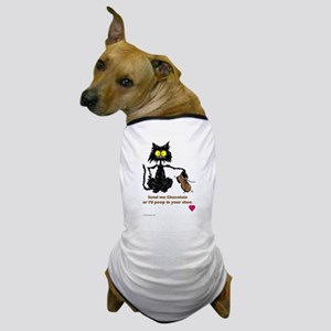 SEND ME CHOCOLATE Dog T-Shirt
