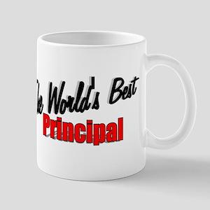 """The World's Best Principal"" Mug"