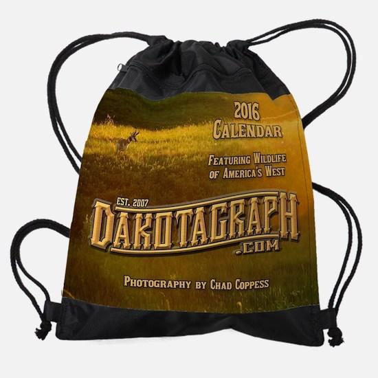 2016 Dakotagraph wildlife calendar Drawstring Bag