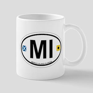 Marco Island - Oval Design. Mug