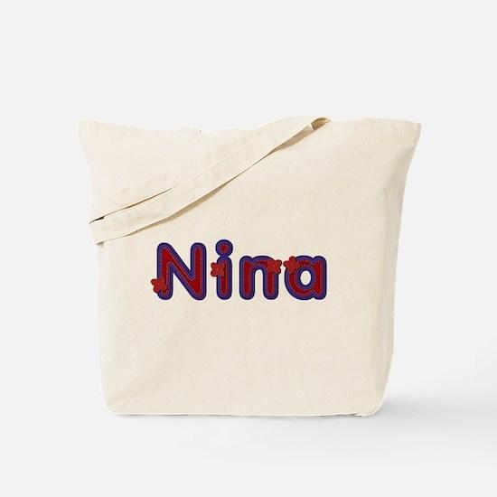 Nina Red Caps Tote Bag
