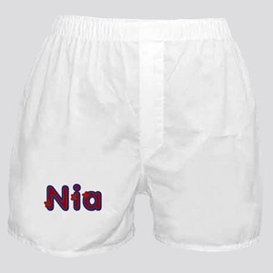 Nia Red Caps Boxer Shorts