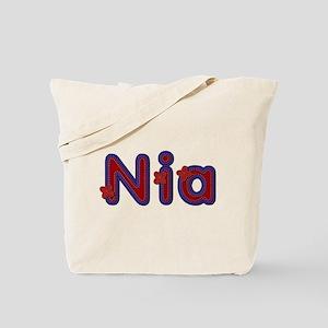 Nia Red Caps Tote Bag