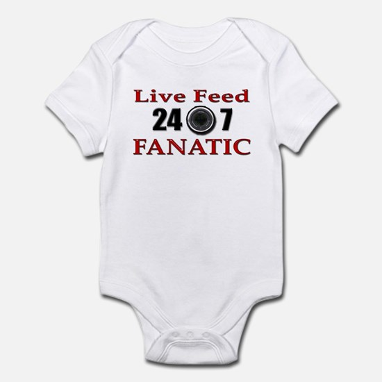 Live Feed Fanatic Infant Creeper