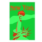 New York Christmas Postcards (Package of 8)