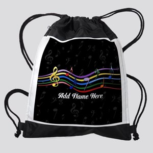 personalized music gifts 2 Drawstring Bag