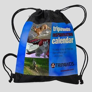 Tripawds 2016 Calendar #2 Drawstring Bag