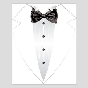 Tuxedo (grey) Posters