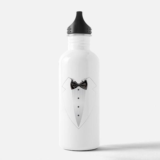 Tuxedo (grey) Water Bottle
