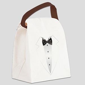 Tuxedo (grey) Canvas Lunch Bag