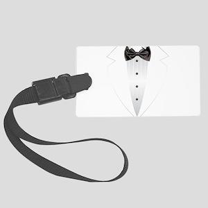 Tuxedo (grey) Luggage Tag