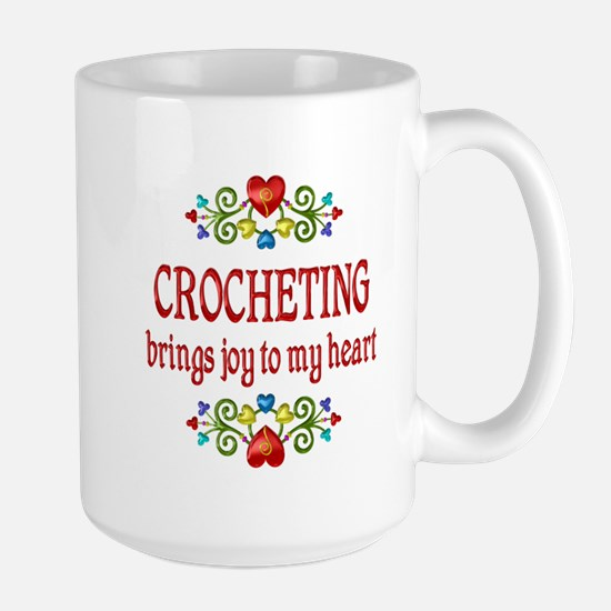 Crocheting Joy Large Mug