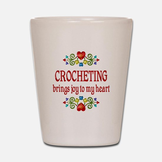 Crocheting Joy Shot Glass