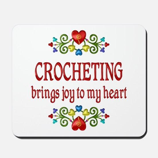 Crocheting Joy Mousepad