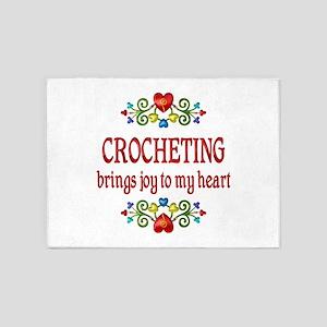 Crocheting Joy 5'x7'Area Rug